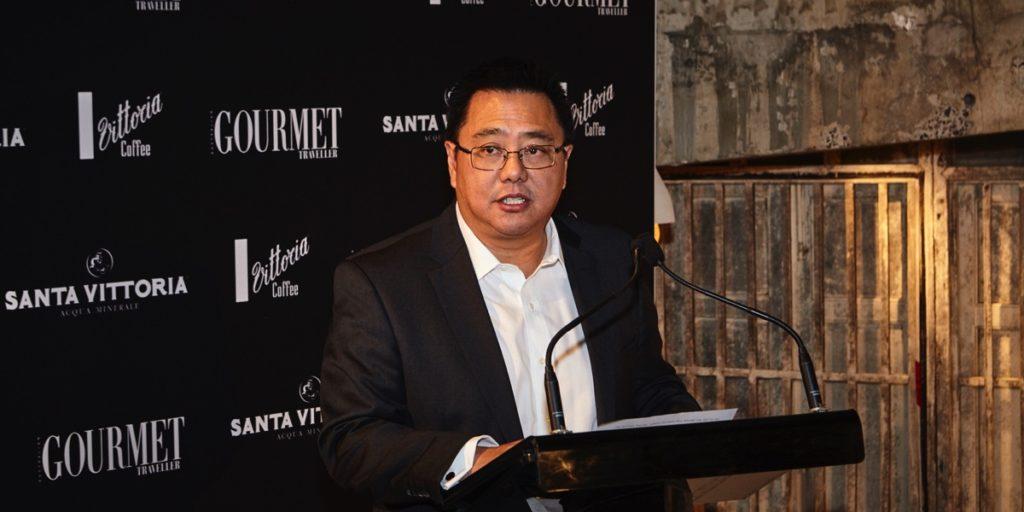 Bauer Media CEO Nick Chan