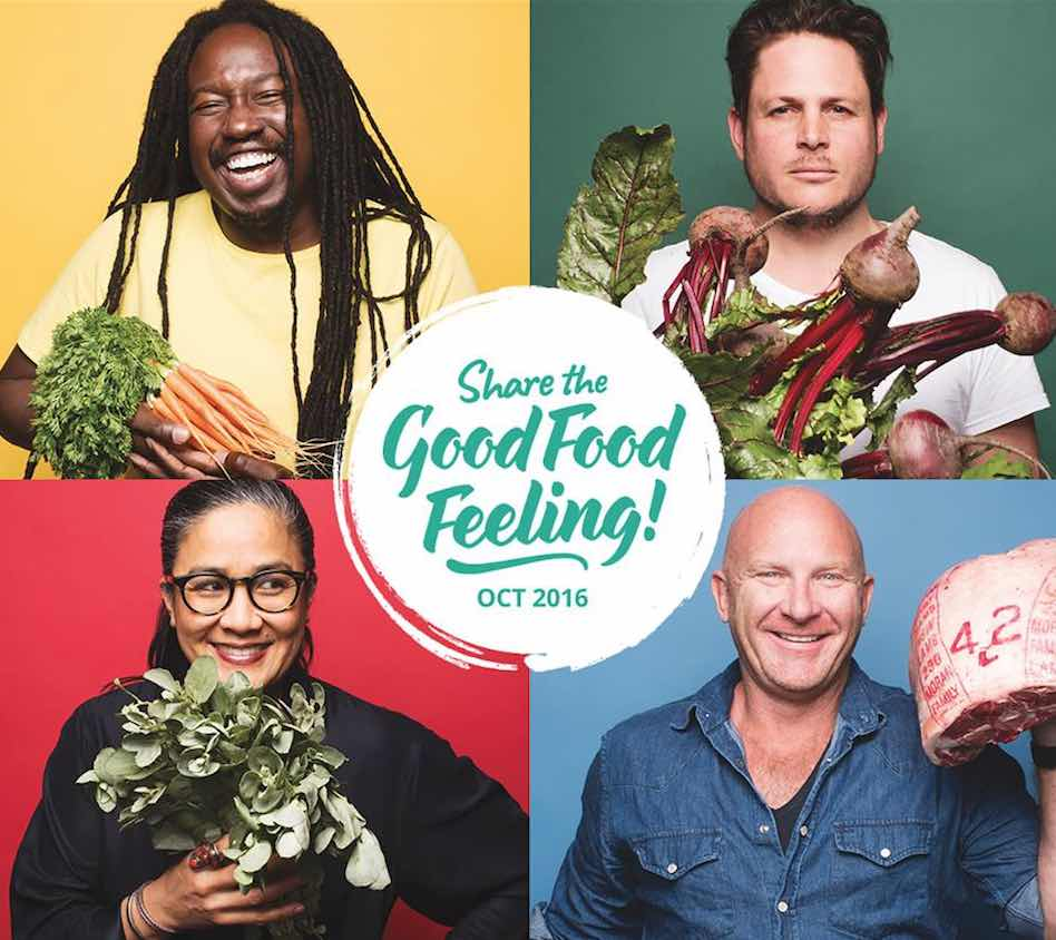 The Sydney Good Food Month promotional poster