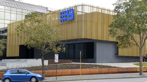 Nine building in Perth