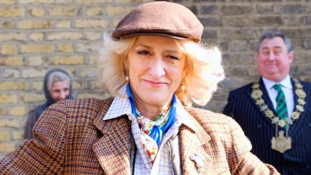 Actor Haydn Gwynne as Camilla in The Windsors