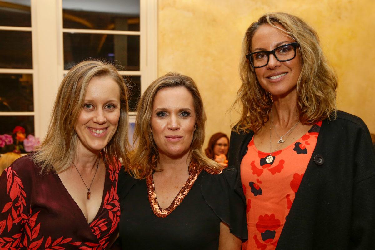 Claire Hooper, Hannah Barnes and Sarah Wilson