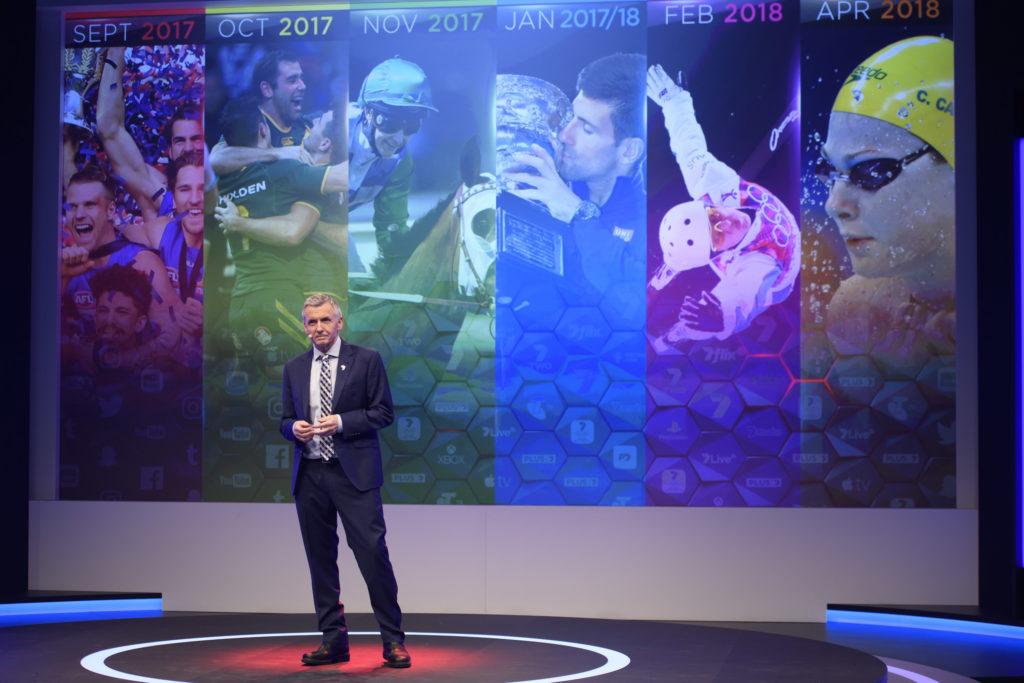 Seven Sport broadcaster Bruce McAvaney