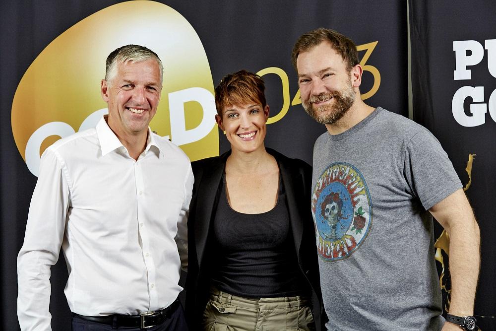 ARN CEO Tony Kendall with Jo and Lehmo
