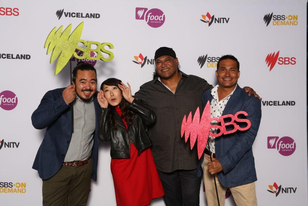 SBS foodies Adam Liaw, Melissa Leong, Mark Olive and Peter Kuruvita
