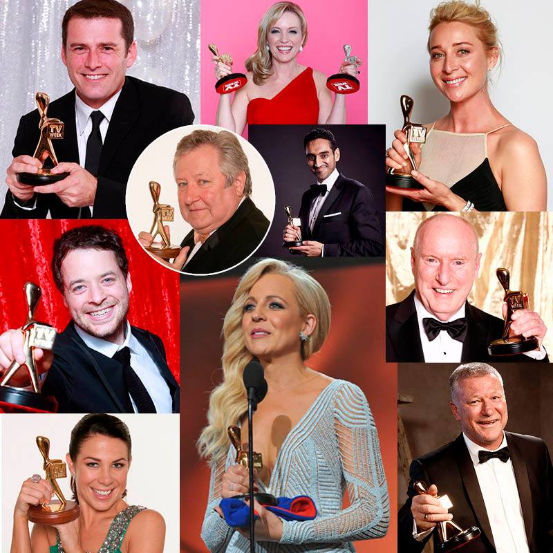 Former winners of the Gold Logie