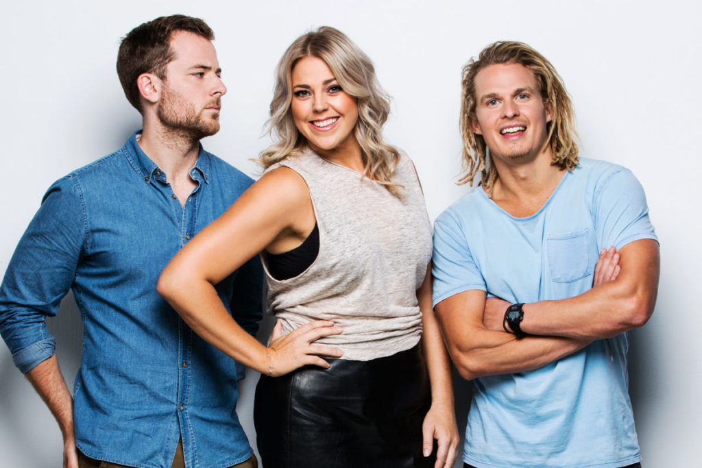 Hit 92.2 breakfast: Heidi, Will and Woody