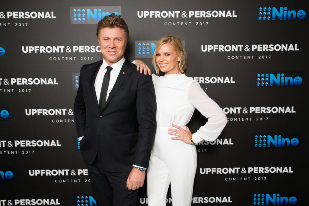 Richard Wilkins and Sonia Kruger