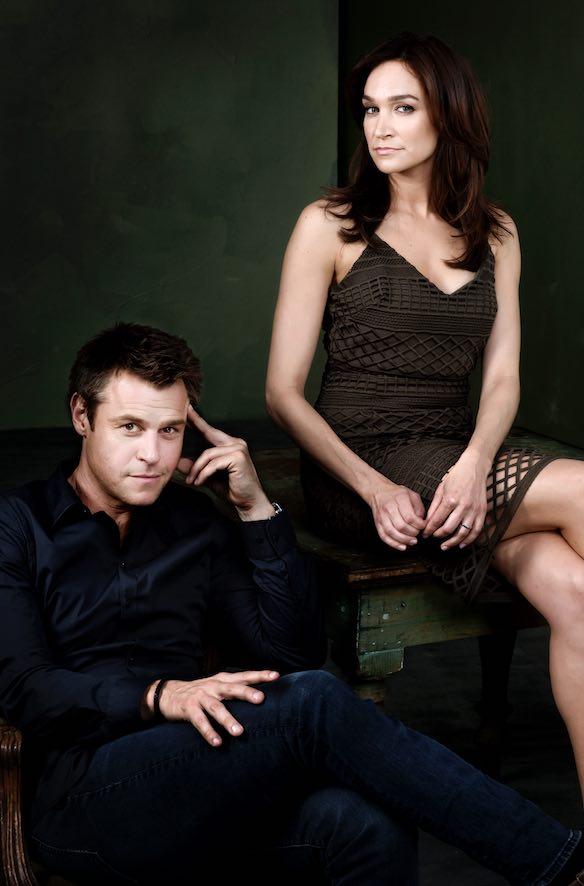 Rodger Corser (Hugh) and Nicole da Silva (Charlie) from Doctor Doctor