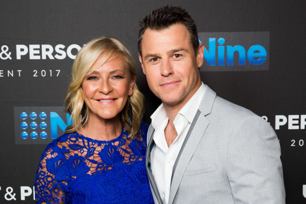 Rodger Corser and Jo Hall