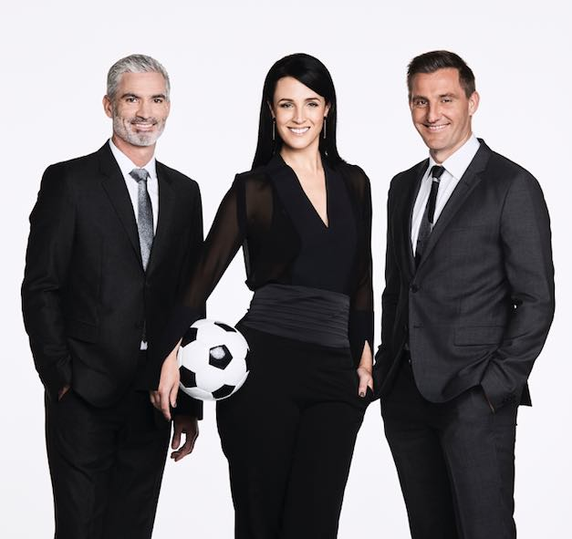 SBS Football hosts Craig Foster, Lucy Zelic and David Zdrilic