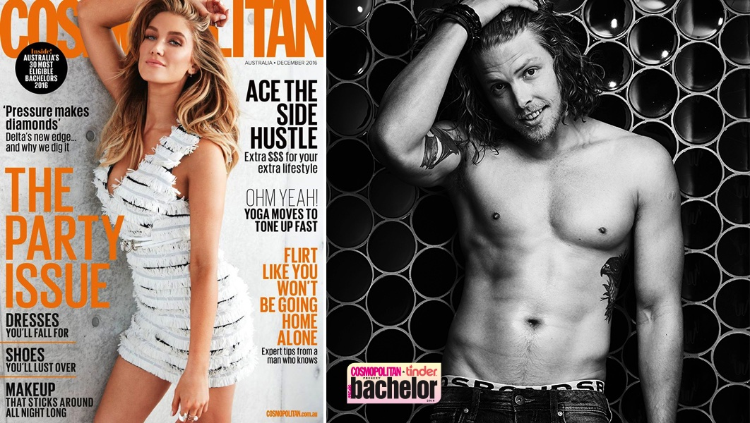 Cosmopolitan's cover & Bachelor of the Year contender Jesse Lawrence