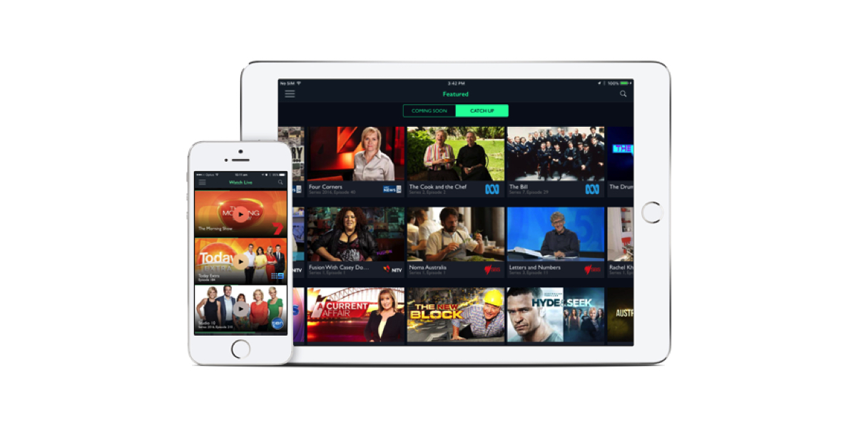 Livestream free-to-air TV with the world-first Freeview app