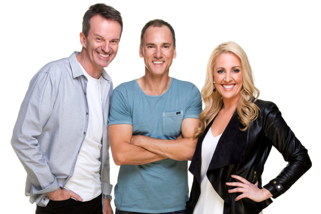 Mix 94.5 breakfast: Clairsy, Matt and Kymba
