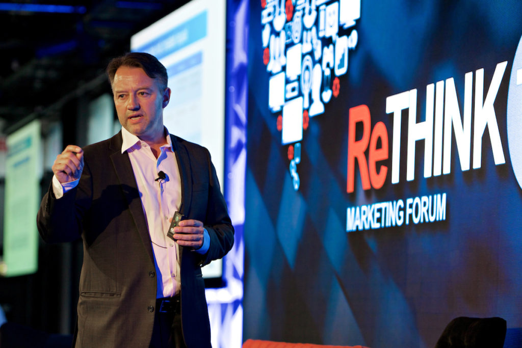 OzTAM CEO Doug Peiffer at the ReThink TV Marketing Forum