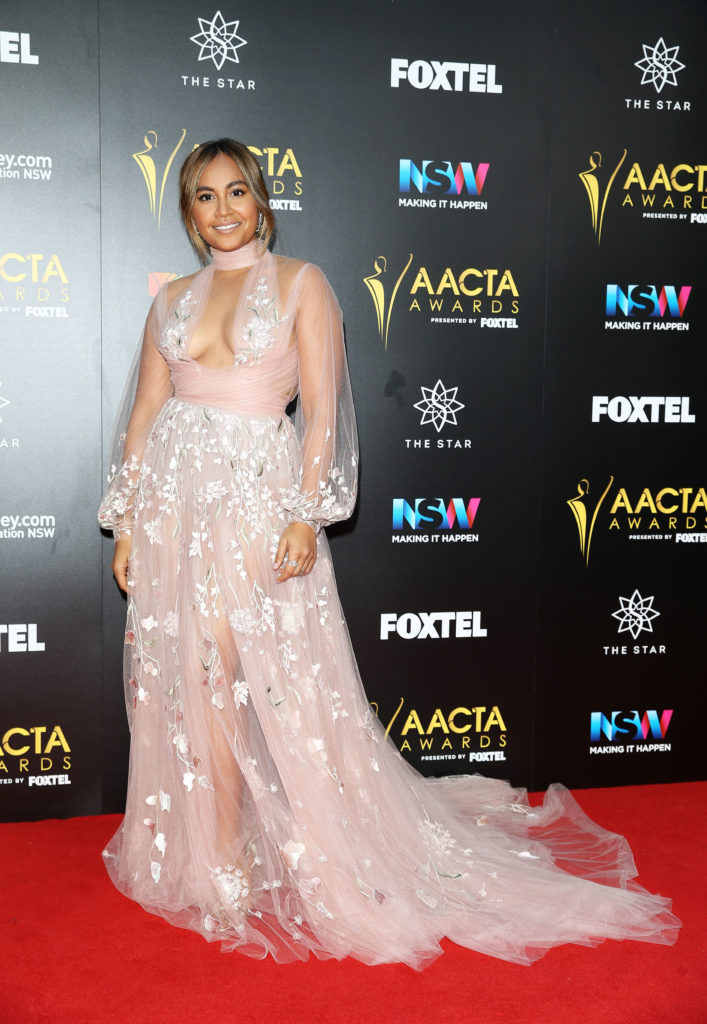 Jessica Mauboy (Photo by Caroline McCredie/Getty Images  for AFI)