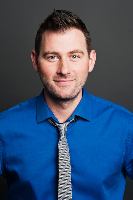 HuffPost Live host Josh Zepps poses for a portrait at the AOL Huffington Post headquarters in New York on Thursday Aug. 9, 2012. (Damon Dahlen, AOL)