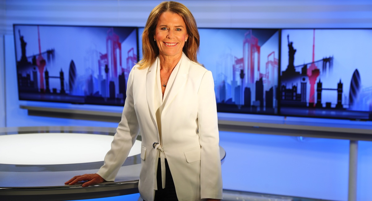 Sky News Business Ticky Fullerton On Her New Nightly Show