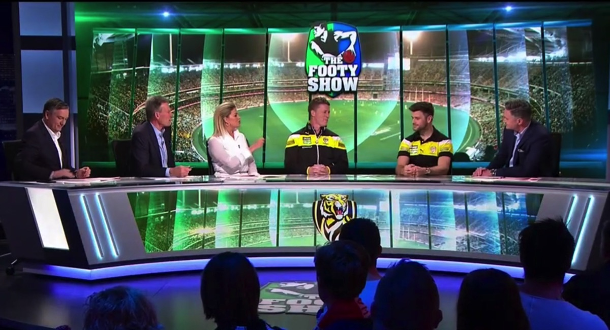 AFL Footy Show kicks a torp worthy of the Front Bar trophy