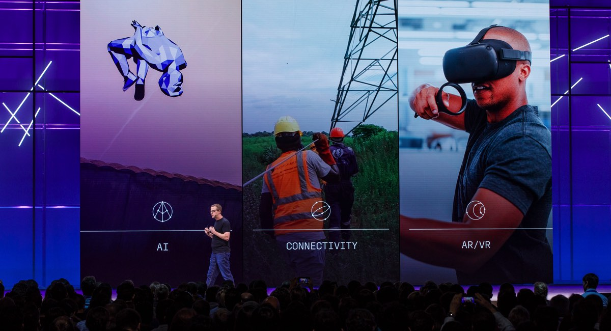F8 Conference Day 2: Reality or VR? Facebook aggressively investing