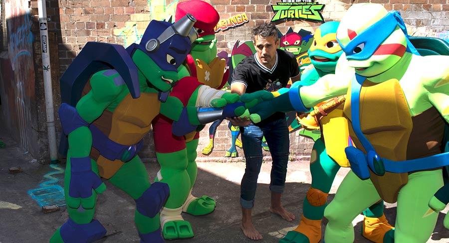 Nickelodeon returns to Big Bash League with Ninja Turtles