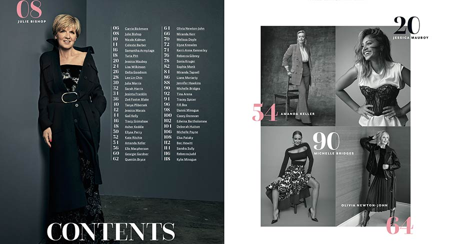 Newsstand preview: Stellar's 50 Most Talked About Women In Australia