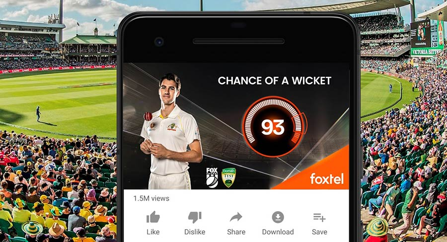 How a Fox Cricket AI innovation is predicting when wickets