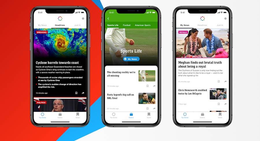 American sports news app