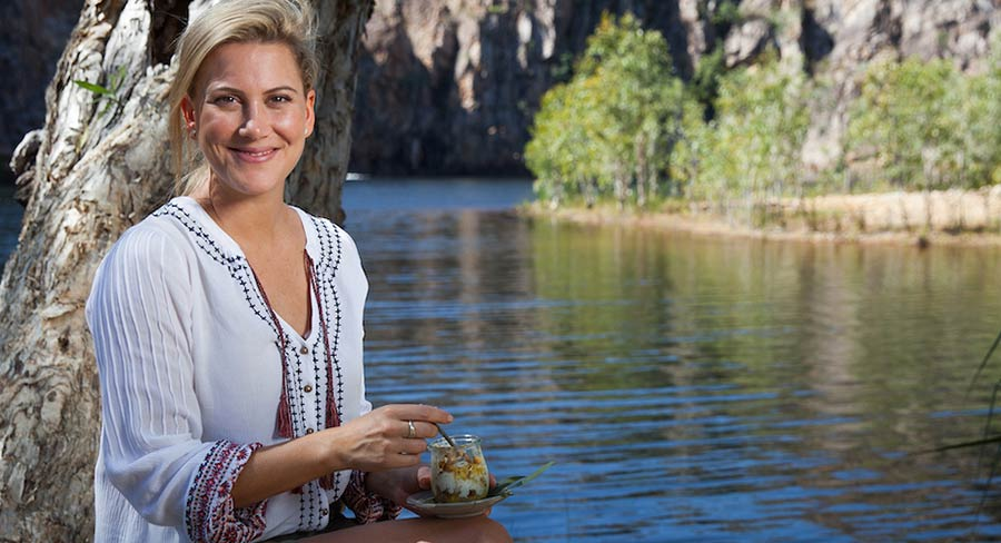Explore food & flavours in Australian Outback with Justine Schofield