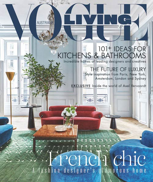 Rebecca Caratti Shakes Up Vogue Living Next Gen To Rock Stars