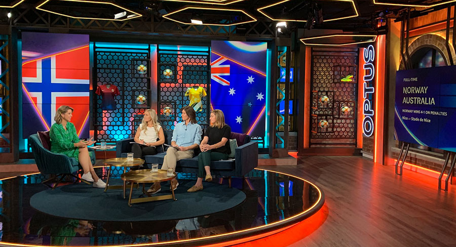On location: Inside the Optus Sport bunker as Matildas exit