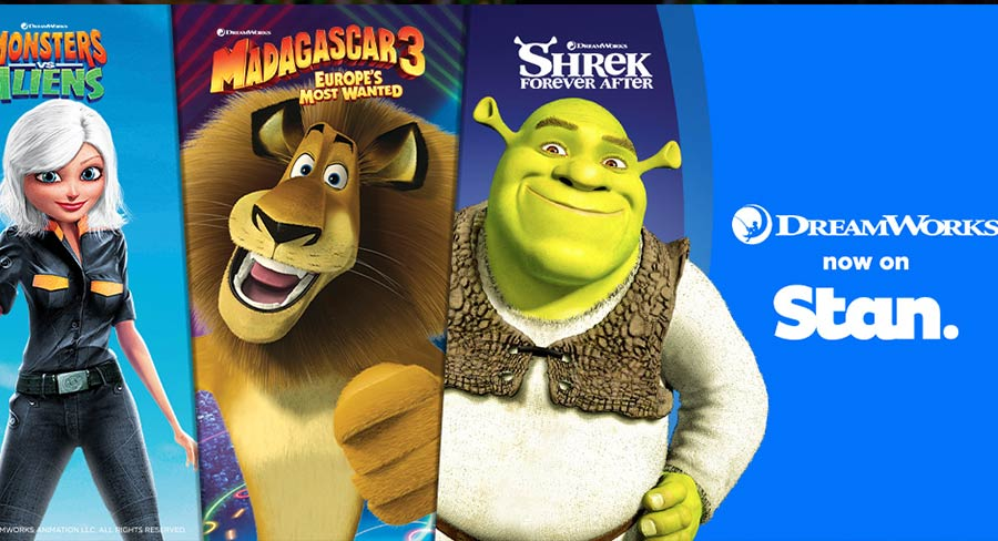 Stan reveals movies from Paramount deal for DreamWorks Animation