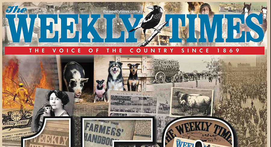 The Weekly Times milestone: 150 years of continuous publication