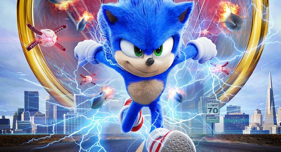 Box Office: Sonic the Hedgehog races to #1 with $3.87m