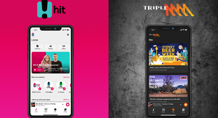 Hit Network Triple M apps