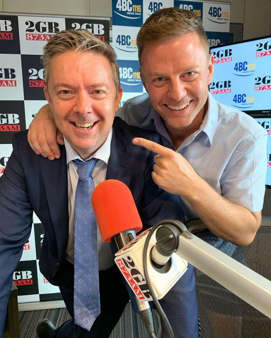 Ben Fordham and Greg Byrnes