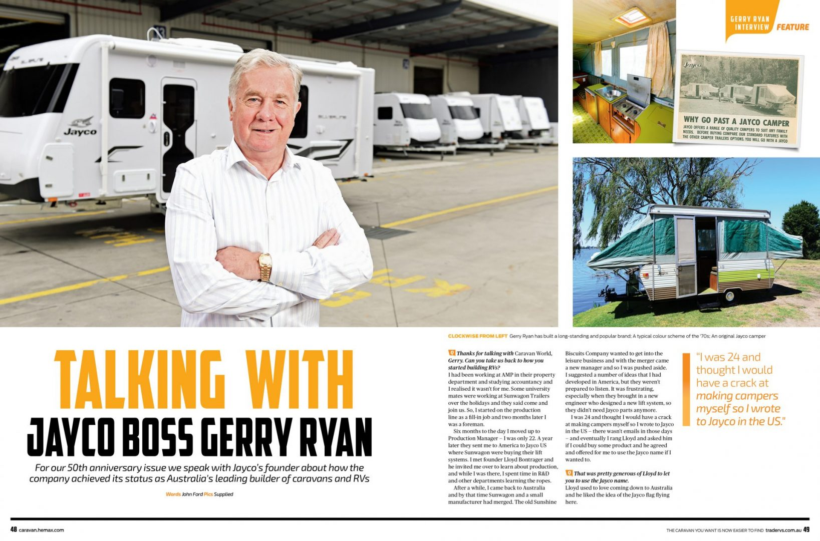 Gerry Ryan Interview