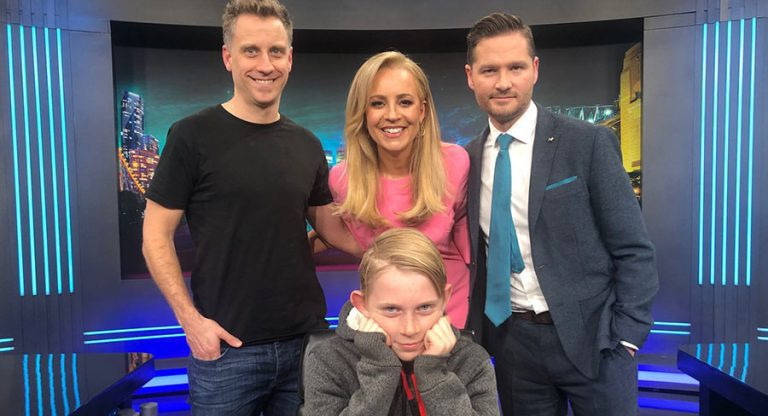 Chris Walker Charlie Pickering Carrie Bickmore