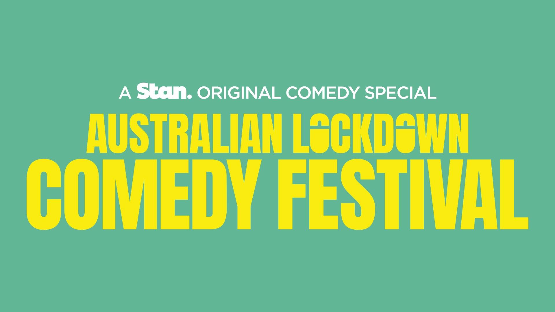 Australian lockdown comedy festival on Stan
