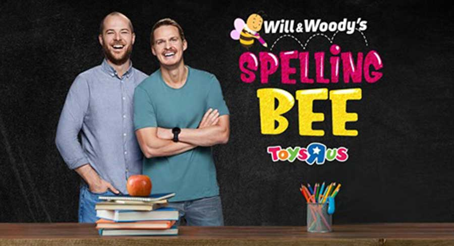 Will & Woody Spelling Bee