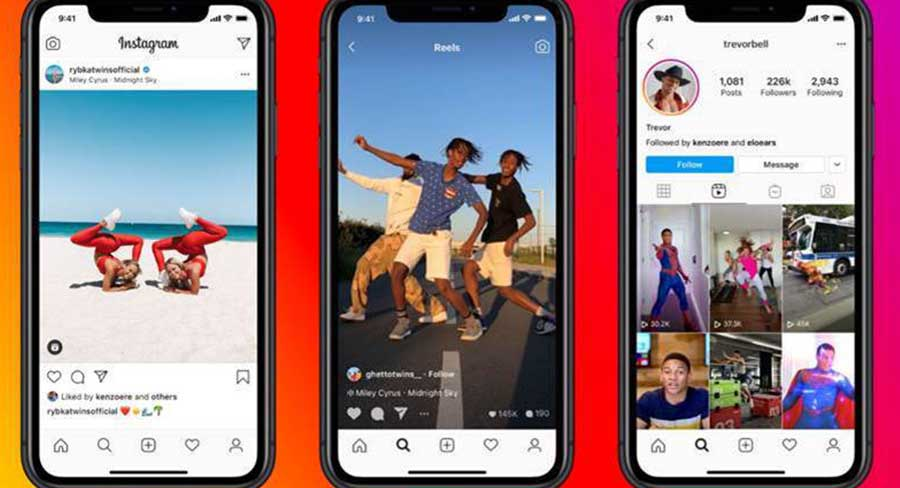 Instagram launches Reels for short-form edited videos with audio and music
