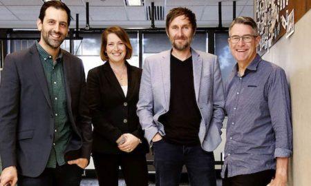 Photo [L-R]: Doni Savvides, Partner, Melanie Wiese, Chief Strategy Officer, Martin Beecroft, Chief Innovation Officer, Gavin Bain, Managing Partner