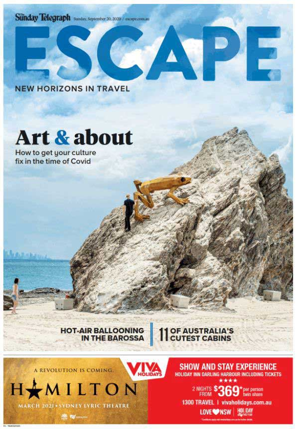 escape magazine news corp travel and tourism