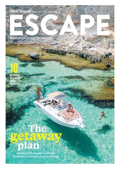 Escape travel and tourism news corp magazine