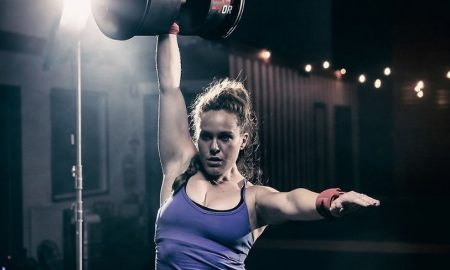 strong women documentary woman lifting weights