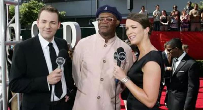 Travis Winks at the ESPN Espy awards