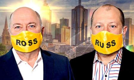 Ross Stevenson and Russel Howcroft