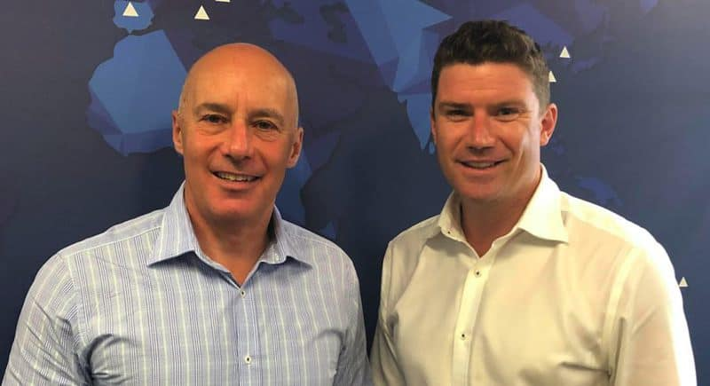 Tony Paykel and Active's Cameron Swan