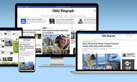 Daily Telegraph new look