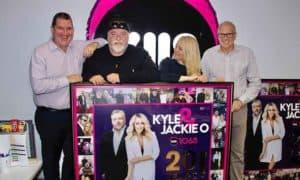 Kyle and Jackie O