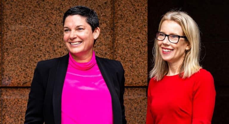 Sarah Keith and Caroline Doran